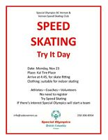 Speed Skating - Try It Day
