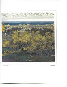 Ivan Eyre - Long Lake, limited edition print
