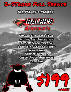 2 Stroke Snowmobile Full Service – All Makes & Models