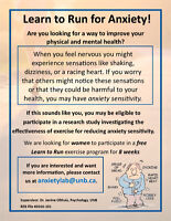Learn to Run for Anxiety!