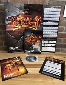 INSANITY 60 day Workout DVD Set -BEACH BODYExcellent Condition