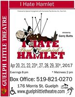 Guelph Little Theatre presents I Hate Hamlet