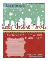 Sunday Christmas Markets - December 6, 13 & 20