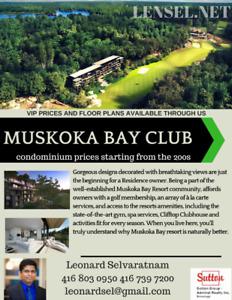 MUSKOKA BAY CLUB RESORT CONDOS FOR SALE ! HOME SWEET HOME