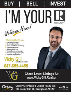 Full Time - Your Realtor - Vicky Gill
