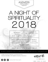 A Night of Spiritualism - Vendor Spots and Tickets..on sale now!