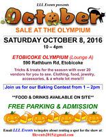 VENDORS WANTED SHOW OCT 8, 2016