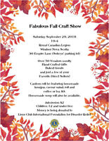 Fabulous Fall Craft Show