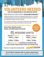 Volunteer This Thursday and/or Friday with ZoomerShow