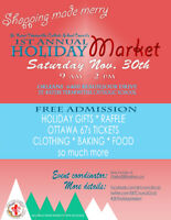 Holiday Market - Nov. 30th in Orleans
