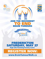 14th Annual Fredericton Brain Tumour Walk