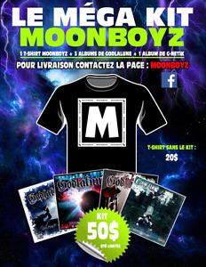 T-shirt + 5 albums de Godlalune