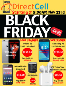 Check out our Amazing Black Friday Deals. Stop by one of our 3 l