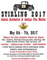 STIRLING AUTOMOTIVE FLEA MARKET 2017 May 6 - May 7, 2017