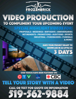 Tell your story with a video! - Video Editing & Production