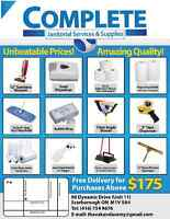 Complete Janitorial Supplies & Services
