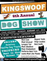 Vendors Wanted for Kingswoof Dog Show, Monday August 1st