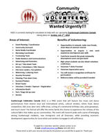 VOLUNTEERS WANTED: Scarborough Celebrates Canada Festival!