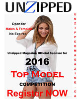 2016 TOP MODEL Competition looking for MODELS (no exp req)