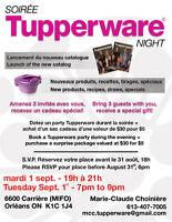 Soirée Tupperware Night