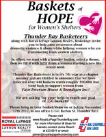 Basketeers (Baskets of Hope for Women's Shelters)