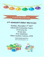 6th Annual Holiday Craft Sale