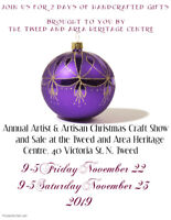 Annual Lovely Christmas Craft Sale