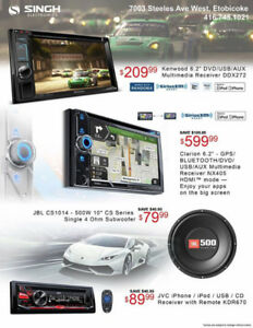 CAR AUDIO INSTALLATION - WAREHOUSE SALE