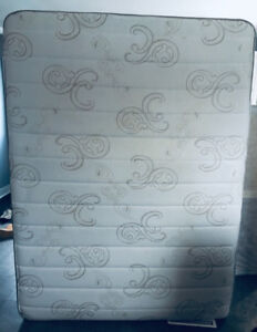 Queen mattress and box spring  only 1 year old.
