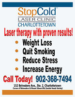 Quit Smoking and Lose Weight With Laser Therapy!
