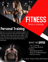 Time + Effort = Results! - 1 on 1 Personal Training