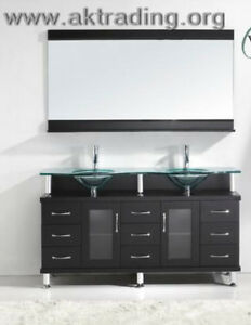 Modern vanities….Our new inventory has arrived.
