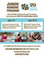 Hamilton/Burlington SPCA Jr. Humane Program
