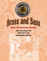 Brass and Sass:  Roller Derby Double Header