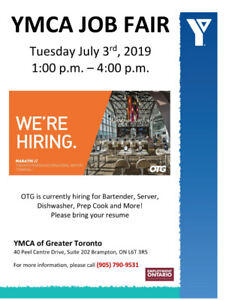 Ymca | Find or Advertise Job Opportunities Online in Ontario