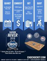 Ligue Hockey cosom Centre-ville (40+ équipes)
