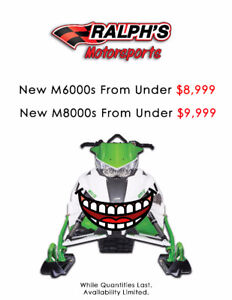 M8000s For Just $9,999 and M6000s For Just $8,999!
