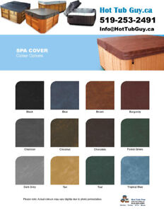 END OF SEASON SALE! Hot Tub Covers $368.95+ Shipping Included