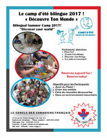 """Bilingual Summer Camp """"Discover your world"""""""