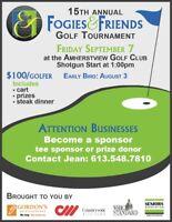 15th Annual Fogies & Friends Golf Tournament