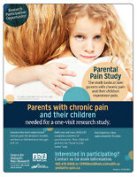 Research Study for Parents with Chronic Pain and their Children