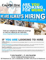 General Labour positions available in Etobicoke!! 416-744-6767