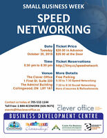 Speed Networking in Collingwood Ontario