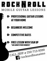 Rock N' Roll: Mobile Guitar Lessons