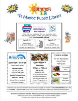 Summer Events at Madoc Public Library
