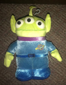 "Toy Story Alien 8"" Plush Stuffed Doll New with Tag"