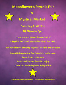 Psychic Fair and Mystical Market