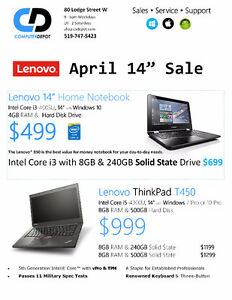 Find out why Lenovo ThinkPad Laptops are better ... Kitchener / Waterloo Kitchener Area image 8
