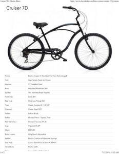 Electra Bikes Cruiser Bicycle For Sale