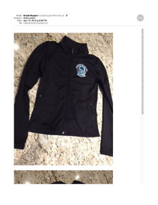 Girls Figure Skating Club Jacket Size 6X